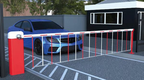 Hệ thống barrier kiểm soát xe