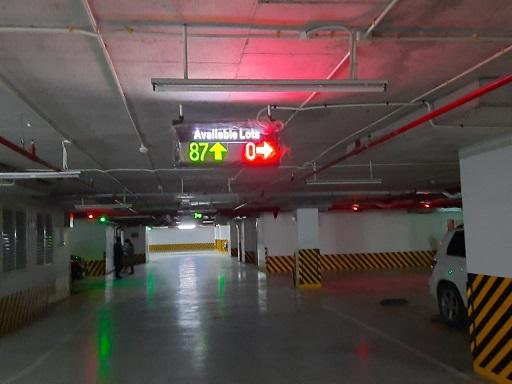 Hệ thống báo chỗ trống tầng hầm